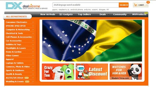Como comprar no DealExtreme - Deal Extreme Brasil