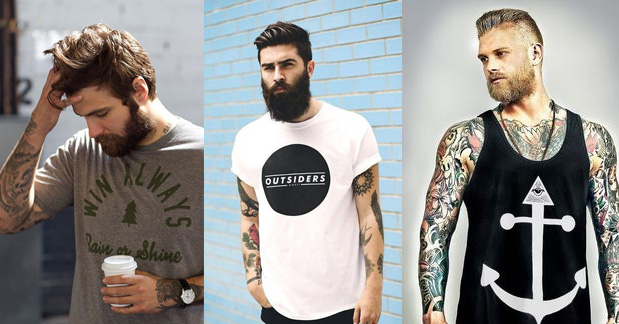 Blusas lenhador hipster