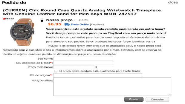 TinyDeal - Como comprar com menores preços
