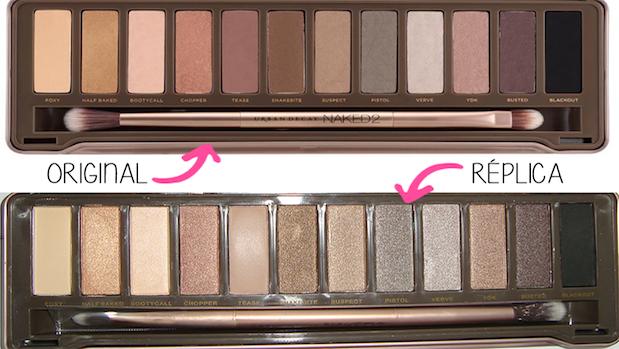 Como importar maquiagem - Paleta Naked