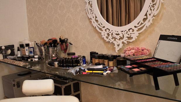 Como importar maquiagem - Penteadeira