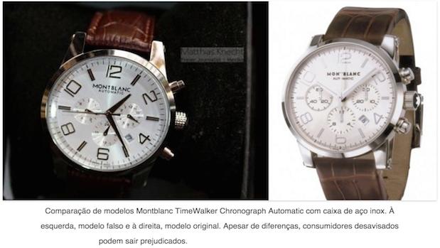 Relógios masculinos - Original e réplica -